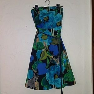 Anthropologie Strapless Dress